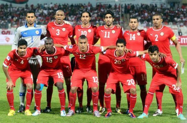 البحرين تسجل أربعة أهداف نظيفه في المرمى اليمني.