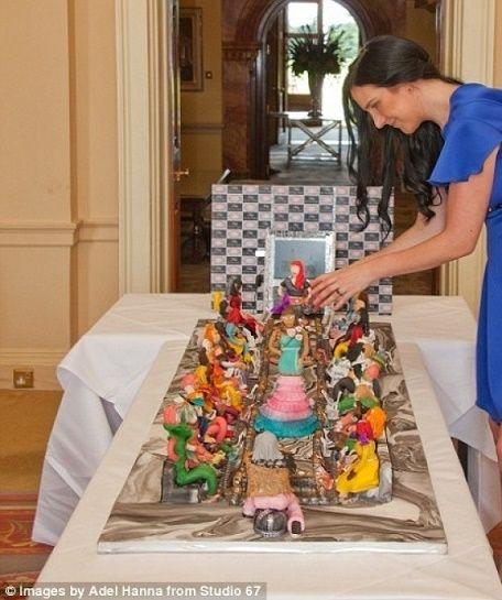 """""""كيكة"""" عيد ميلاد تشتريها عائلة إماراتية بـ75 مليون دولار.. تعرّف على مكوناتها - صحيفة الجامعة"""