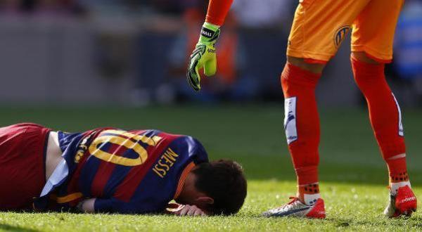 إصابة ميسي تثير القلق في المنتخب الأرجنتيني قبل تصفيات المونديال - University Journal