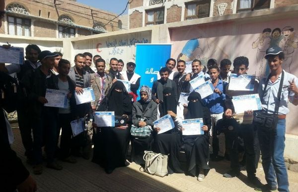 """""""سبأفون"""" والهلال الأحمر اليمني يدشنان حملة الإسعافات الأولية لأكثر من (751) متطوع - University Journal"""