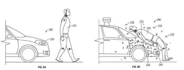 جوجل تسجل براءة اختراع غطاء محرّك لاصق لحماية المشاة من الصدمات - صحيفة الجامعة