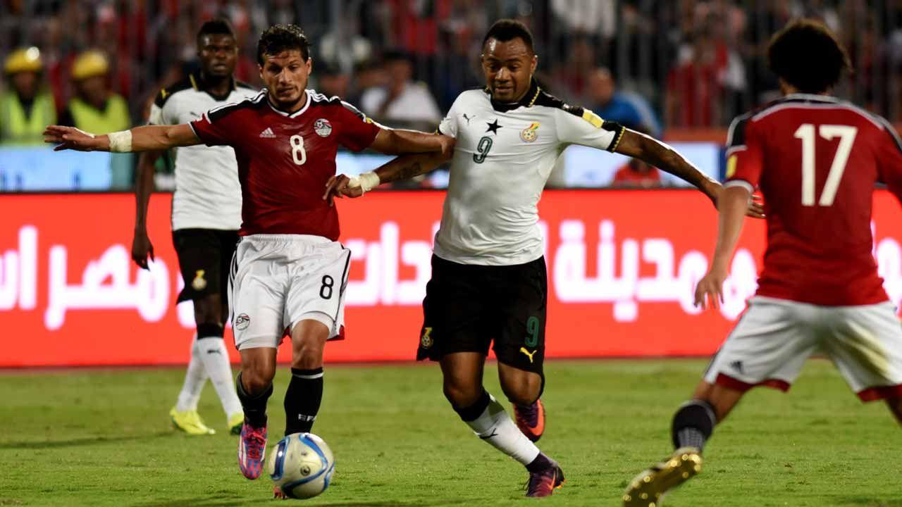 الفراعنة أمام المنتخب الغاني في مباراة تحصيل حاصل