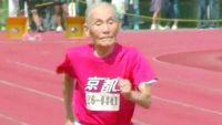 معمر ياباني يسجل رقمًا قياسيًا في العدو