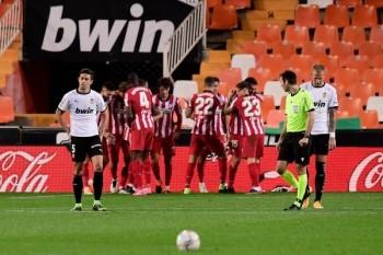 أتليتيكو مدريد يحقق انتصاره السادس على التوالي بالدوري الإسباني
