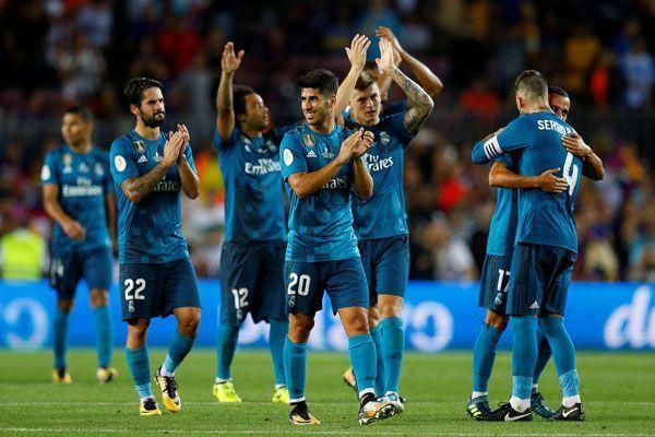 ريال مدريد يهزم برشلونة بثلاثية مقابل هدف بذهاب كأس السوبر الإسباني