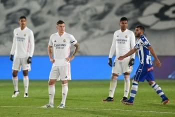 ريال مدريد يواصل نتائجه السلبية فيالليجاويسقط أمامألافيس