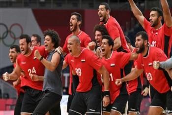 منتخب مصر لليد يدخل تاريخ الأولمبياد بعد بلوغة نصف النهائي