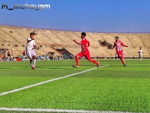 شعب حضرموت يحقق أول فوز له في الدوري التنشيطي على حساب اتحاد اب - صحيفة الجامعة