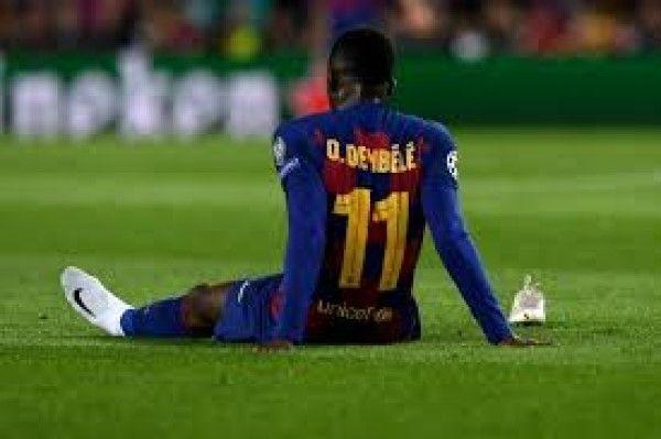 """برشلونة يعلن غياب """"ديمبيلي"""" ستة أشهر - University Journal"""