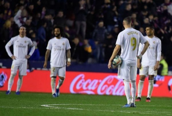 ريال مدريد يسقط أمام ليفانتي ويهدي برشلونة الصدارة - صحيفة الجامعة