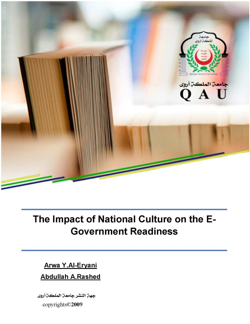 The Impact of National Culture on the E-Government Readiness