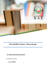 ELT and ESP in Yemen : Then and now