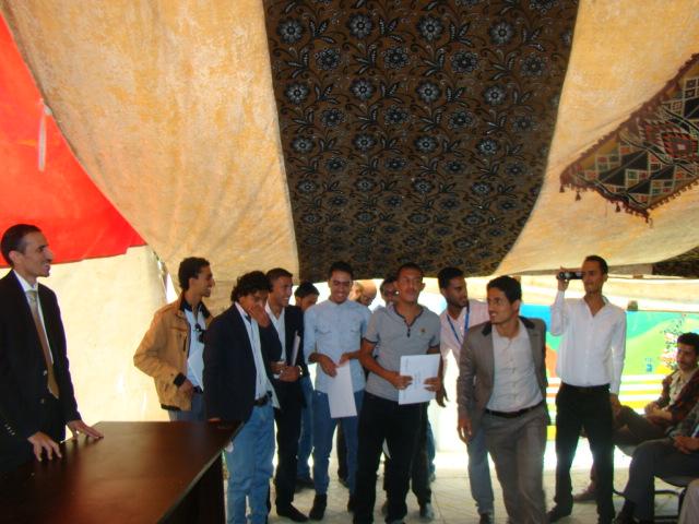 حفل تكريم طلاب كلية الهندسه وعلوم الحاسوب