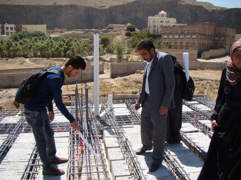 زيارة ميدانية لطلاب سنة ثانية قسم الهندسة المعمارية وهندسة الديكور