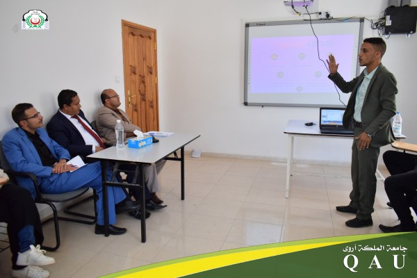 مناقشات مشاريع تخرج قسم هندسة وعلوم الحاسوب للعام الجامعي 2019 - 2020م