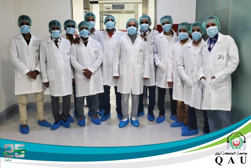 زيارة طلاب قسم الصيدلة لمصنع شفاكو للصناعة الدوائية